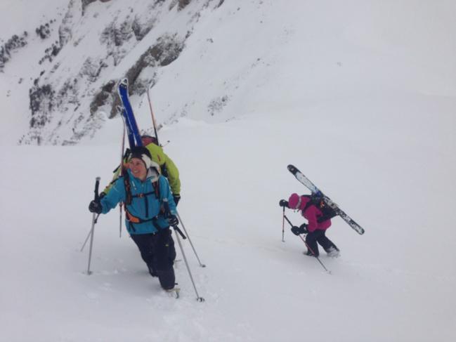 Ski sauvage dans les Balkans