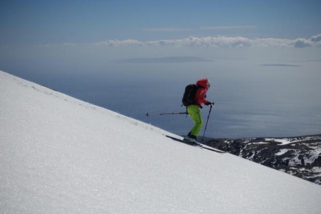 Ski de randonnée en Crête