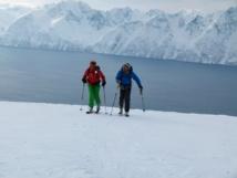 Ski Voile en Norvége, les Alpes de Lyngen