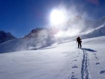 Raid à ski dans la Bernina