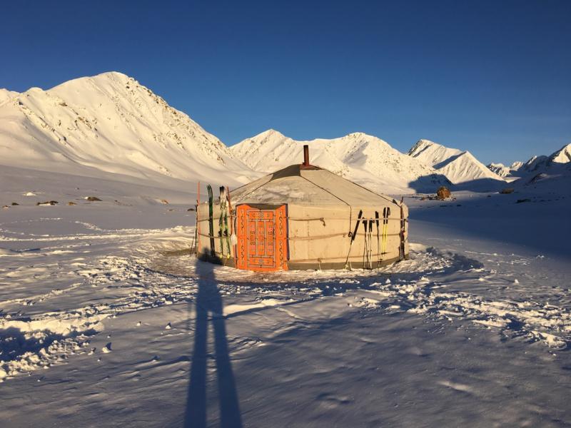 Ski de randonnée en Mongolie