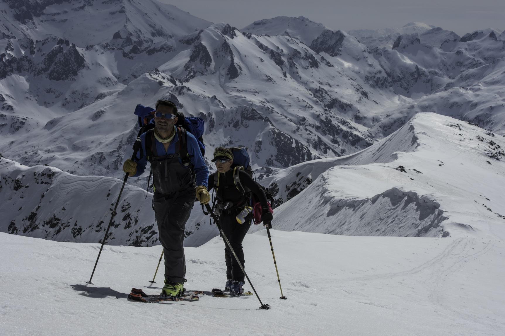 Ski de Randonnée en Corse, l'Alta Strada