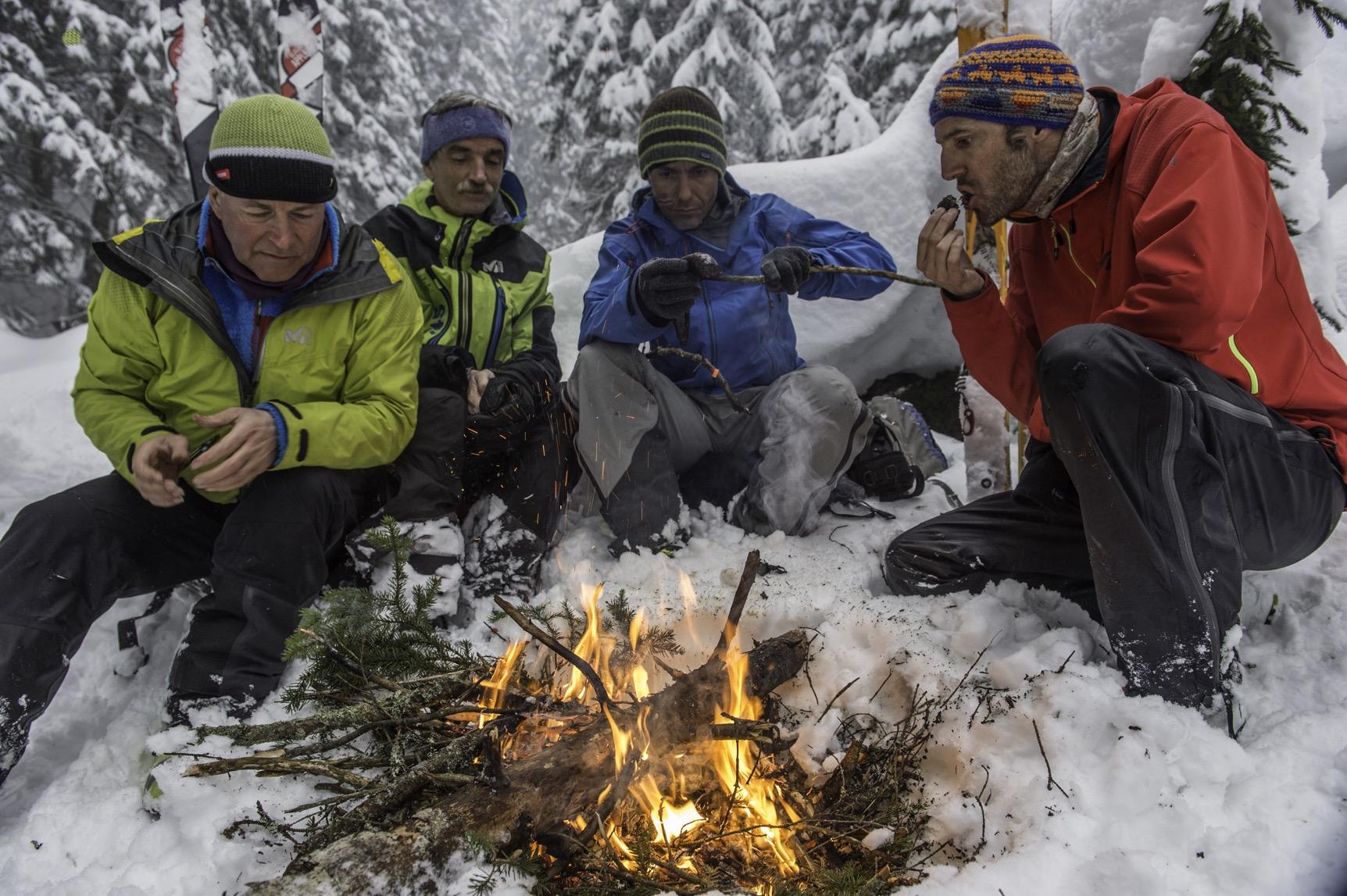 Traversée des Tatras, pause pique nique