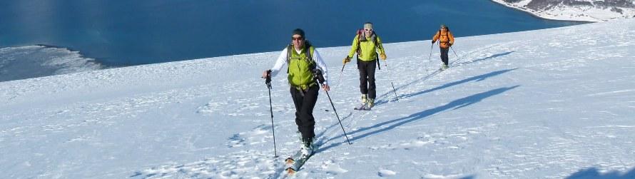 Ski dans les Fjords