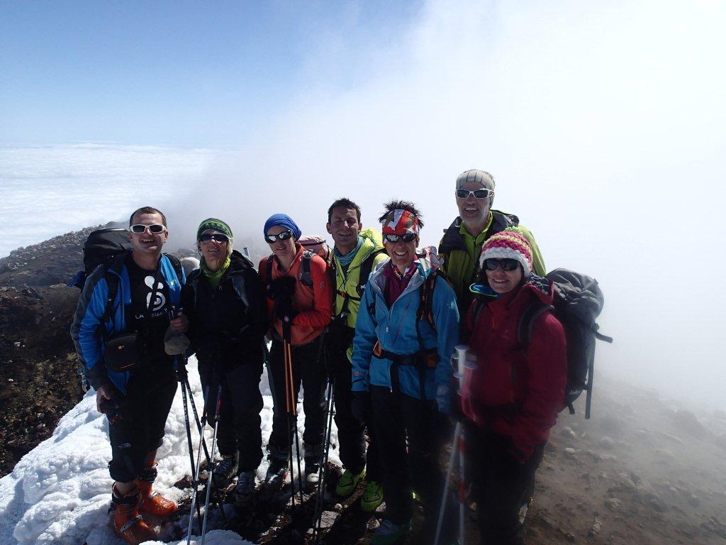 Au sommet de l'Etna