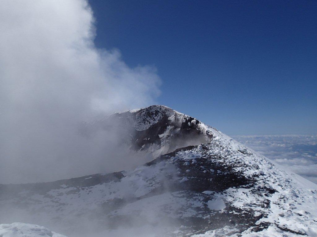 Le cratère de l'Etna