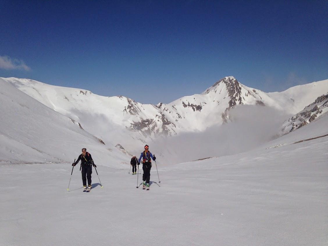 Ski de randonnée dans les Abruzzes