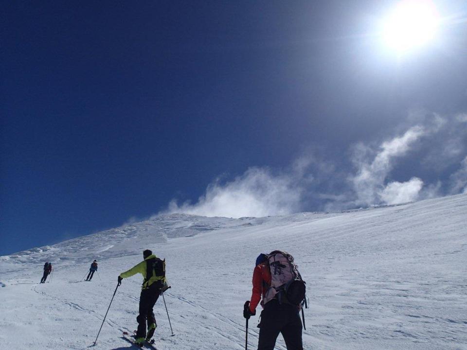 Ski de randonnée dans la Sierra Nevada