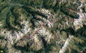Traversée des Hautes Pyrénées